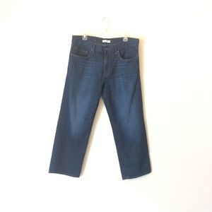 BR Dark Rinse Boyfriend Cut Jeans